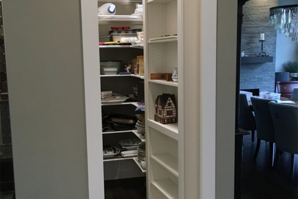 Seattle Kitchen 2_Hidden Room Door Open