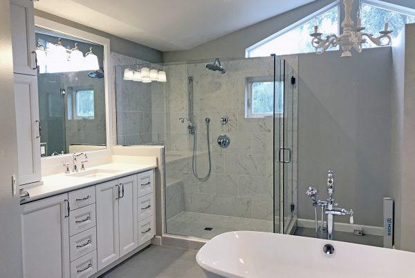 Bathroom renovation in Seattle - Design by Nor Design & Construction