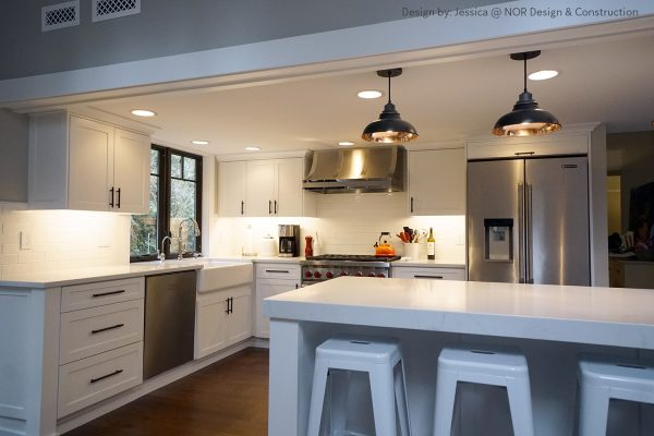 Kitchen renovation in Woodinville - Design by Nor Design & Construction