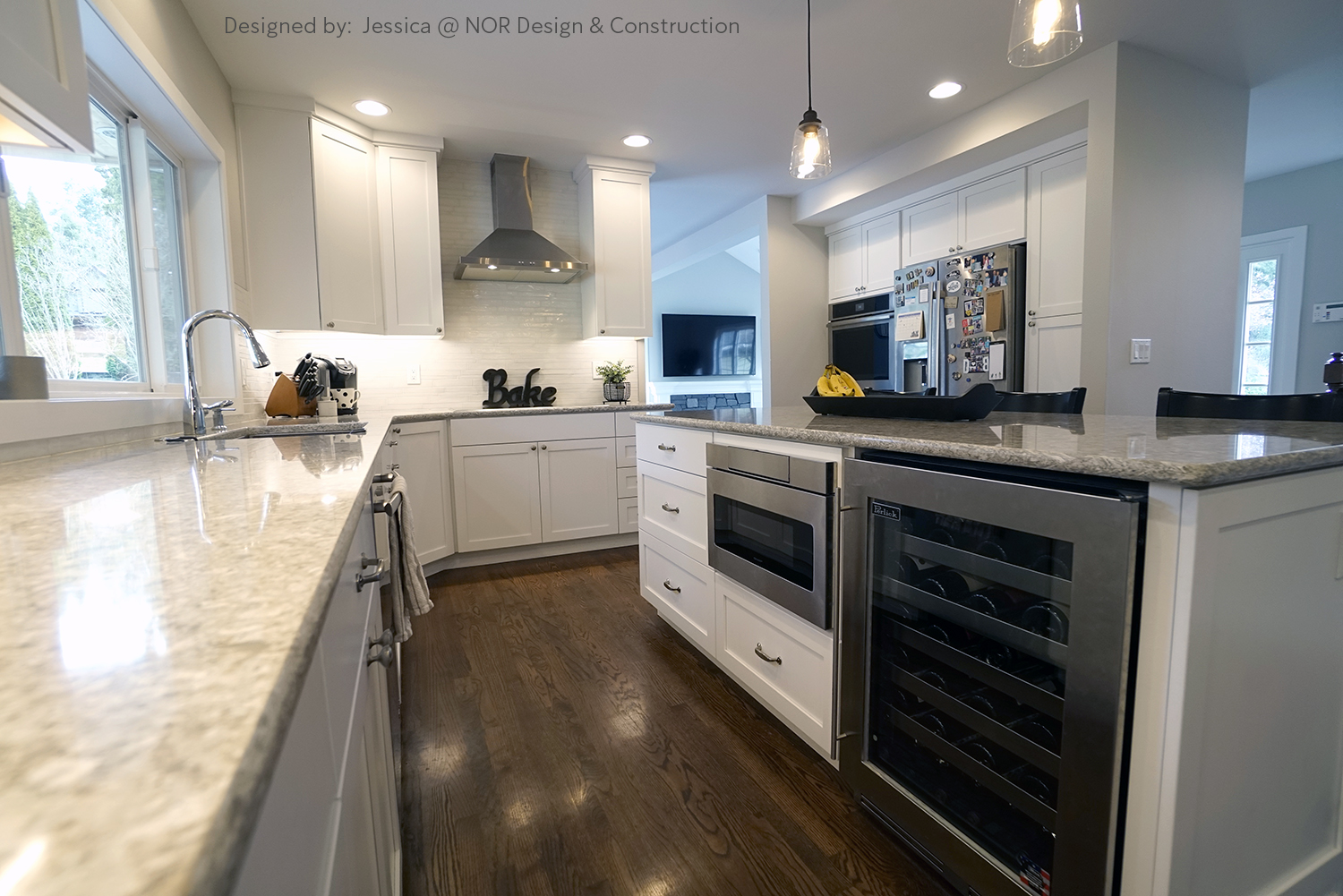 Woodinville Kitchen Design - Designed by Nor Design & Construction